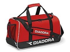 Diadora Unisex Small Calcio Bag - Red