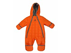Orange Boys Quilted Puffer (9M-4T)