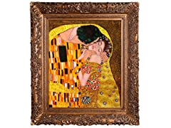 Klimt - The Kiss Oil Painting: 20X24
