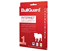 BullGuard Internet Security 2017 - 1 Device/1YR