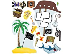Peel & Play Accessory Pack - Pirate