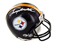 Terry Bradshaw Signed Steelers Mini Helm