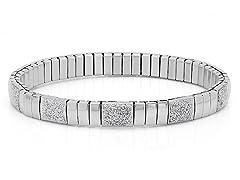 Stretch Bracelet w/ Metallic Glitter