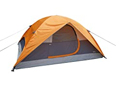 AmazonBasics 4-Person Camping Tent with Rainfly