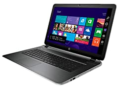 "HP Pavilion 17.3"" AMD A10 Touch Laptop"