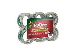 Duck HD Clear Heavy Duty Packing Tape Refills