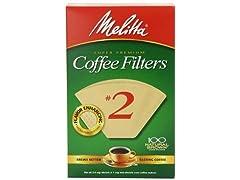 Melitta Cone Coffee Filter 100 Count