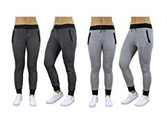 Women's French Terry Joggers 2-Pack