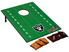 Oakland Raiders Tailgate Toss Game