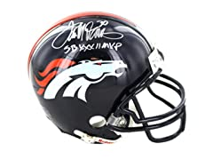 Terrell Davis Signed Denver Broncos Mini