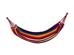 Woven Roatan Hammock - Rainbow