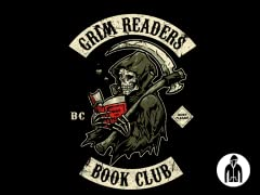 Grim Reader's Book Club Jrsey Zip Hoodie