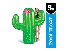 Giant Cactus Pool Float, 5' Tall