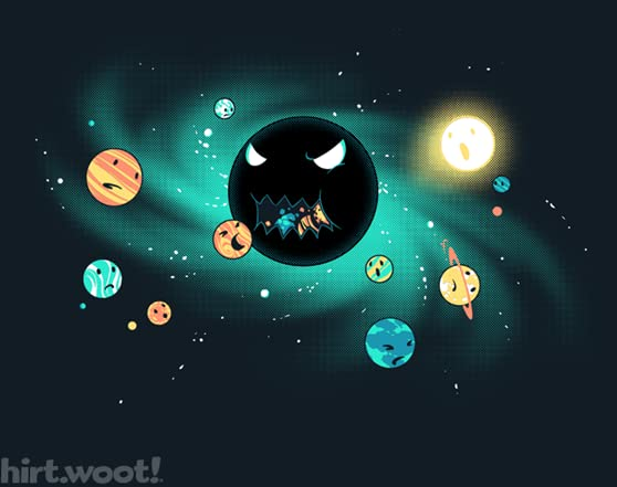 the gravity of planets black holes - photo #14