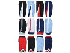 Mens Premium Workout Shorts 4 Pack