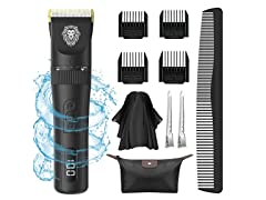 PLYRFOCE Hair Clippers Black