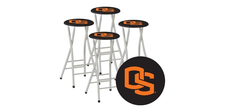 best of times ncaa bar stools set of 4 sports outdoors