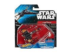 Hot Wheels Star Wars Poe X-Wing Fighter