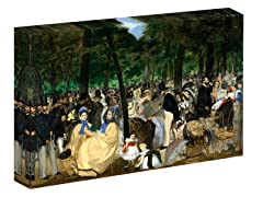 Manet Music in the Tuileries, 1862 (2 Sizes)