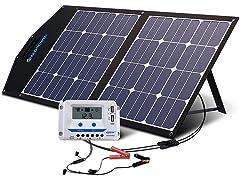ACOPOWER 80W Foldable Solar Panel Kit
