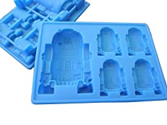 Star Wars R2-D2 Tray-2 Sizes