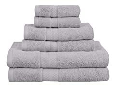 Superior Rayon from Bamboo 6-Piece Towel Set
