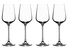 Cuisinart White Wine Glasses, Set of 4