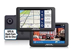 Magellan RoadMate 6630T-LM GPS Dashcam