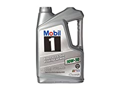 Mobil 1 10w30 Synthetic Oil, 5-Qt