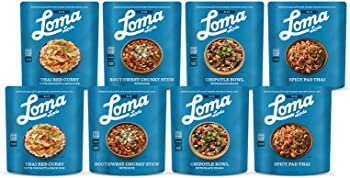 8-Pack Loma Linda Vegan Meal Sampler