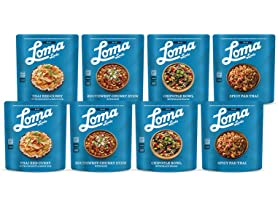 8 Pk Loma Linda Vegan Meal Sampler