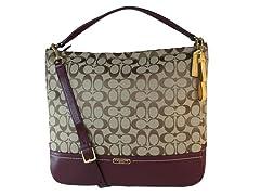 Park Signature Hobo Shoulder Handbag,Brn