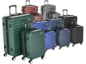AmazonBasics Premium Hardside Luggage
