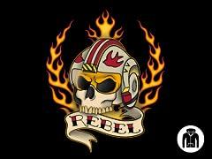 Rebel For Life Zip Hoodie