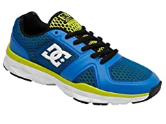 DC Men's Unilite Flex Trainers, Blue/Ylw