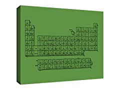 Questionable Table Gallery Wrapped Canvas 2-Sizes