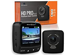 WheelWitness HD PRO PLUS Dashcam: GPS, 2K Video