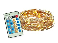 Radiance Dimmable Starry String Lights