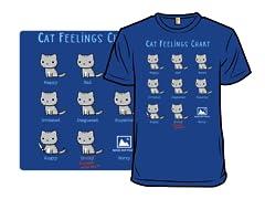 Cat Feelings Chart Shirt