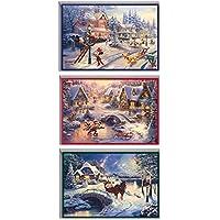 Hallmark Thomas Kinkade Boxed Christmas Cards Assortment
