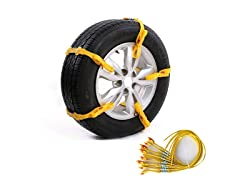 Adjustable Snow Tire Chains