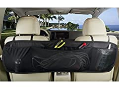 Black Large Flat Back Seat Organizer