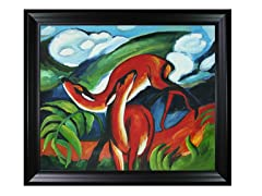 Franz Marc - The Red Deer