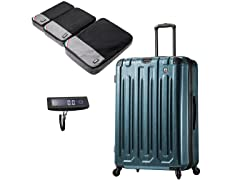 Mia Toro 3PC Travel Set with Scale and Packing Cubes