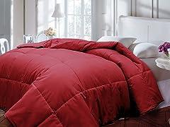 Down Alternative Comforter-Brick-3 Sizes