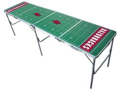 Wild Sports NCAA Tailgate Table Arkansas