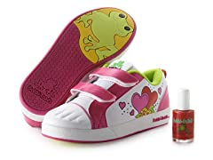 Velcro Shoe & Polish - Sophie (11-1)
