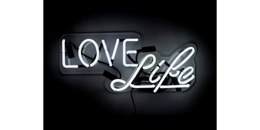 Love life neon sign for Love sign