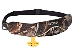 Onyx Manual Inflatable Belt Pack Camo
