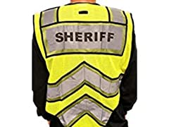 Fire Ninja Sheriff Reflective Vest